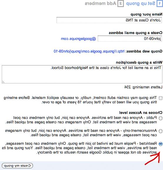 Comment configurer une adresse électronique